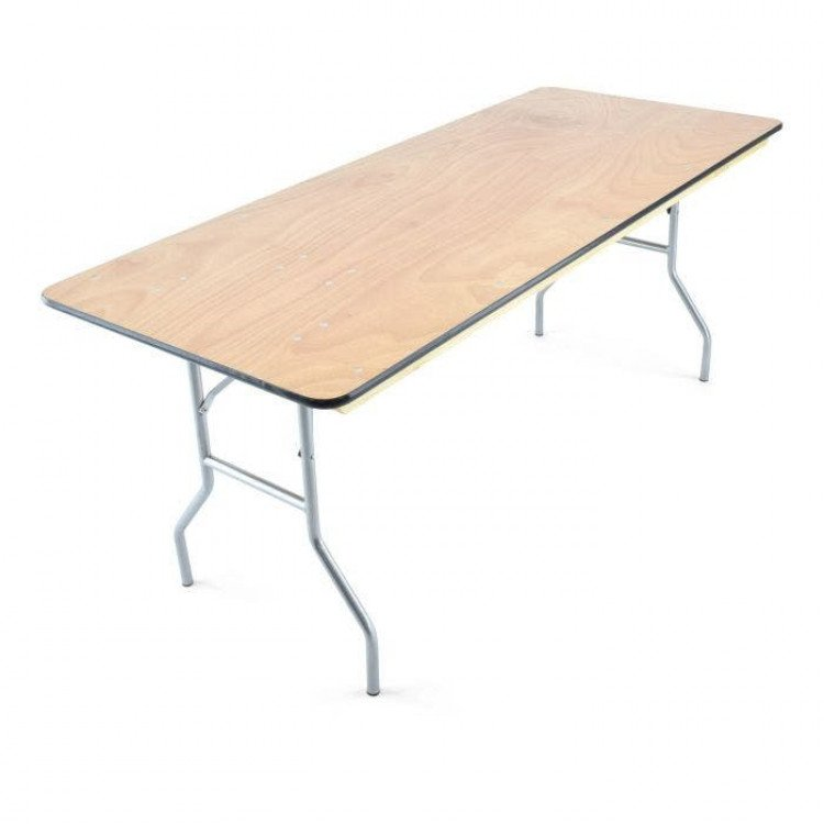 Table- 6' wooden Banquet