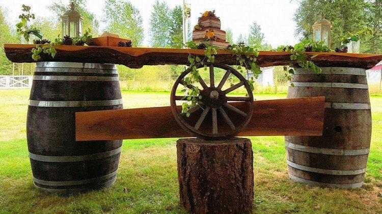Barrel Bar Top only